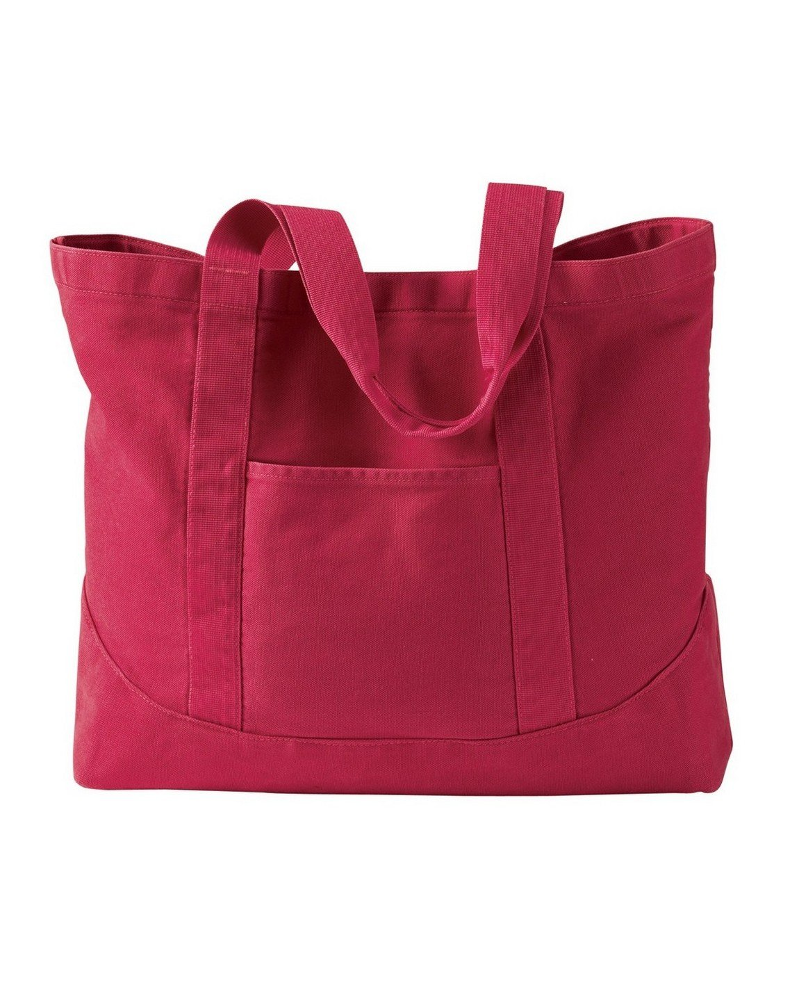 Authentic Pigment 1904 Large Canvas Tote Poppy One Size