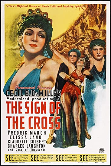 Amazon.com: El cartel Póster de la película de la Cruz o ...