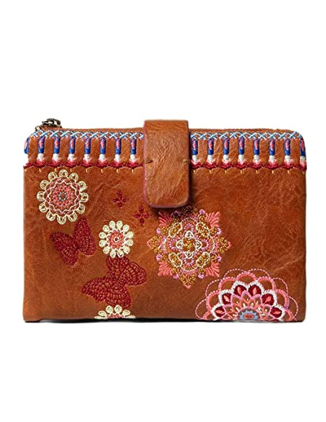 Desigual Cartera Medio Bordado Chandy Julia