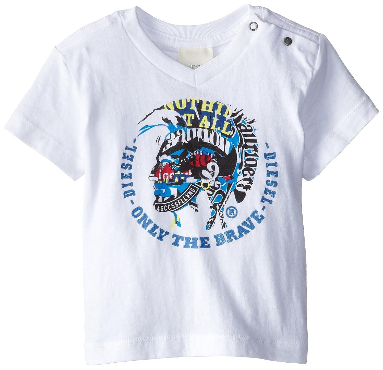 Amazon.com: Diesel Tikvab - Camiseta de manga corta para ...