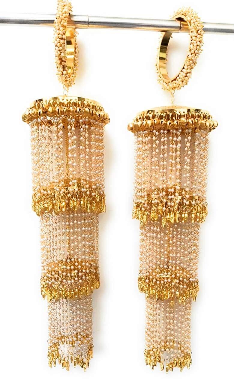 Golden Punjabi Kalire for Women