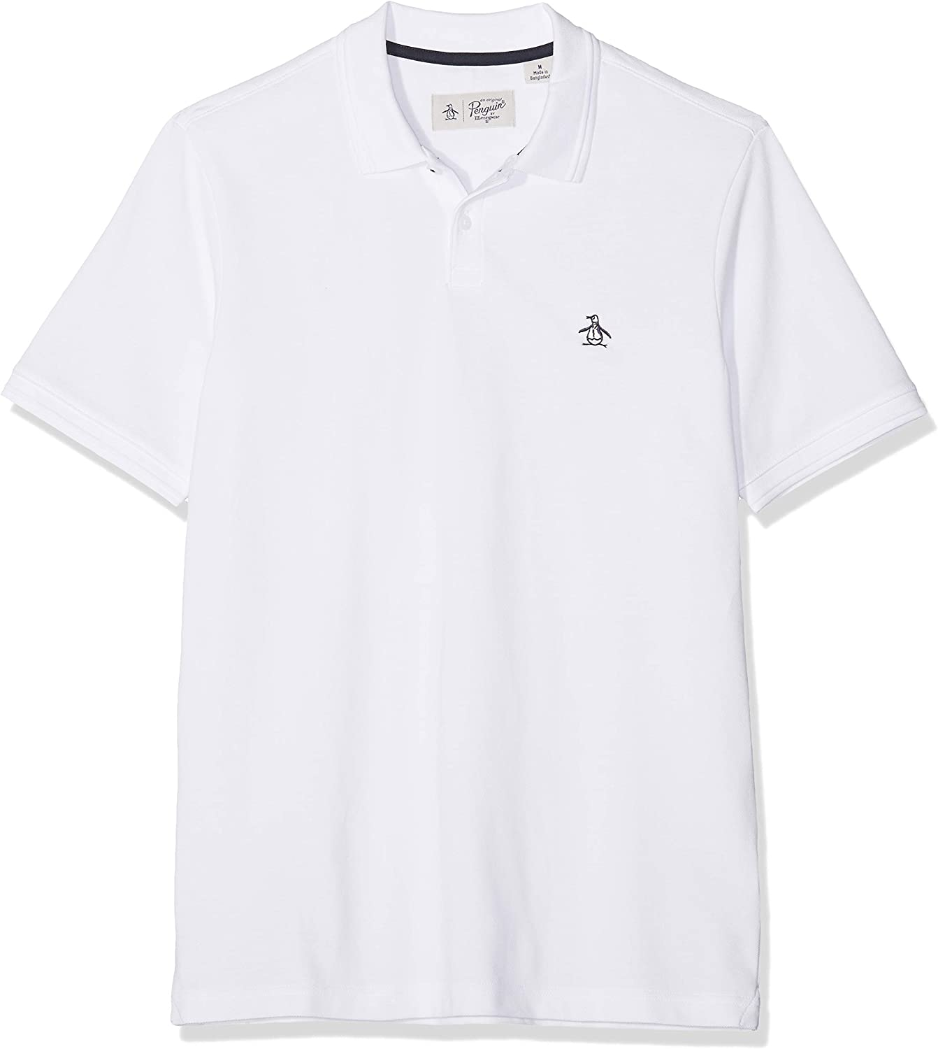 ORIGINAL PENGUIN Sticker Pete Raised Rib Polo para Hombre: Amazon ...