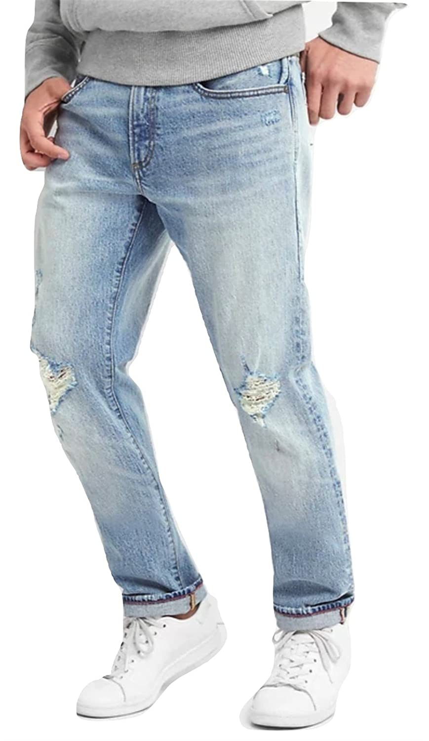 2d36f5c8 GAP Jeans Distressed Jeans in Slim Fit with GapFlex - Mens at Amazon Men's  Clothing store: