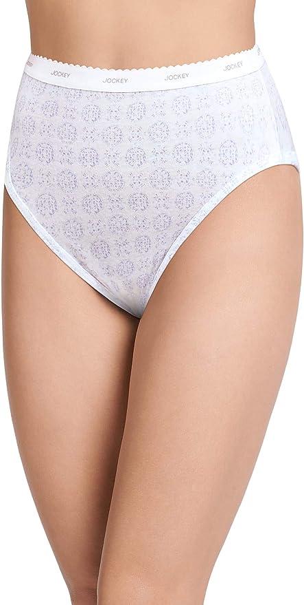 JOCKEY FOR HER CLASSIC SILKS 1501 women/'s 5 brief underwear VTG 1990 NOS NWT NEW