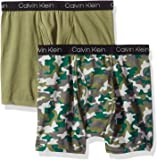 Calvin Klein Boy's Assorted Boxer Briefs (Pack of 2)