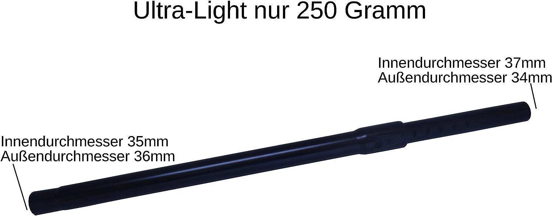 Aluminio 35 mm Tubo telescópico para aspiradora Bosch BSA 2800 Sphera 28 en Set M...: Amazon.es: Hogar