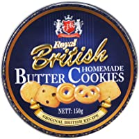 ROYAL BRITISH Home Made Butter Cookies, 150g