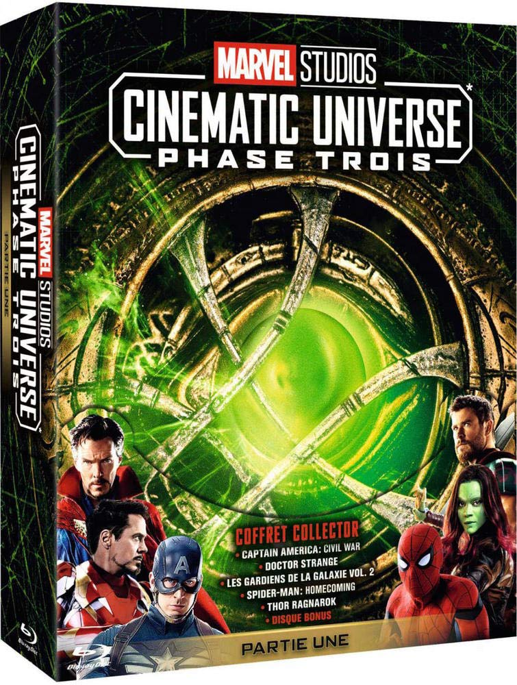Marvel Studios Cinematic Universe : Phase 3.1 - 5 films Francia ...