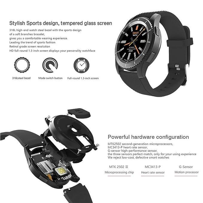 No.1 G8 Smartwatch Bluetooth 4.0 MTK2502 Sport Watch SIM ...