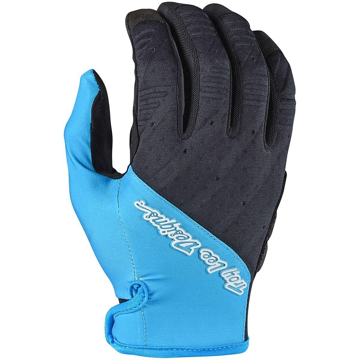 S Mens Solid Black Troy Lee Designs Ruckus Glove