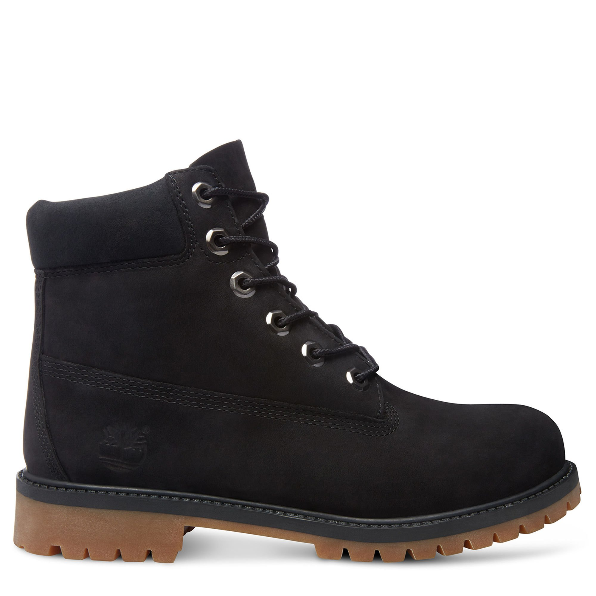 Timberland 6'' Premium Boot Youth US 4 Black Boot