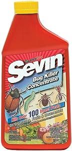 Sevin 100530122 GardenTech Insect Killer Concentrate, 16oz, Plain