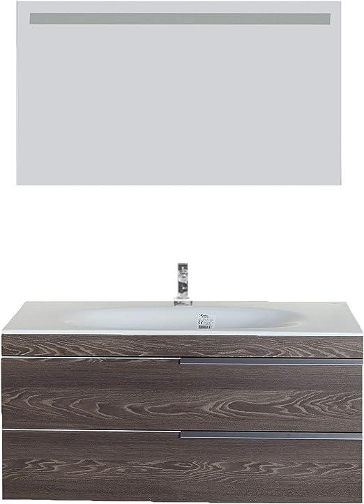 Giallo Rosso Argento Meuble de Salle de Bain avec lavabo et ...