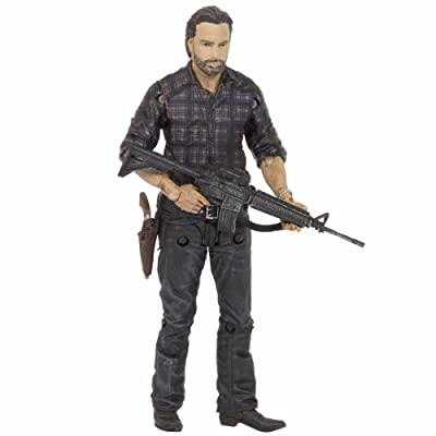 McFarlane Toys The Walking Dead TV Series 7.5 Rick Grimes Action Figure: Toys & Games