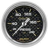 AutoMeter 4734 Carbon Fiber Mechanical Pressure