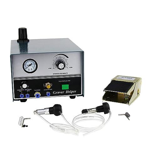 Máquina de grabado de impacto, joyería de doble terminación Graver Helper Engraver Mate Pantalla digital