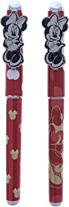 Mickey Mouse and Minnie Mouse Pens, Qty 2 (Minnie&Minnie)