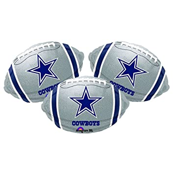 Excellent Dallas Cowboys Football Party Decoration 18 Balloons Set Of 3 Download Free Architecture Designs Scobabritishbridgeorg
