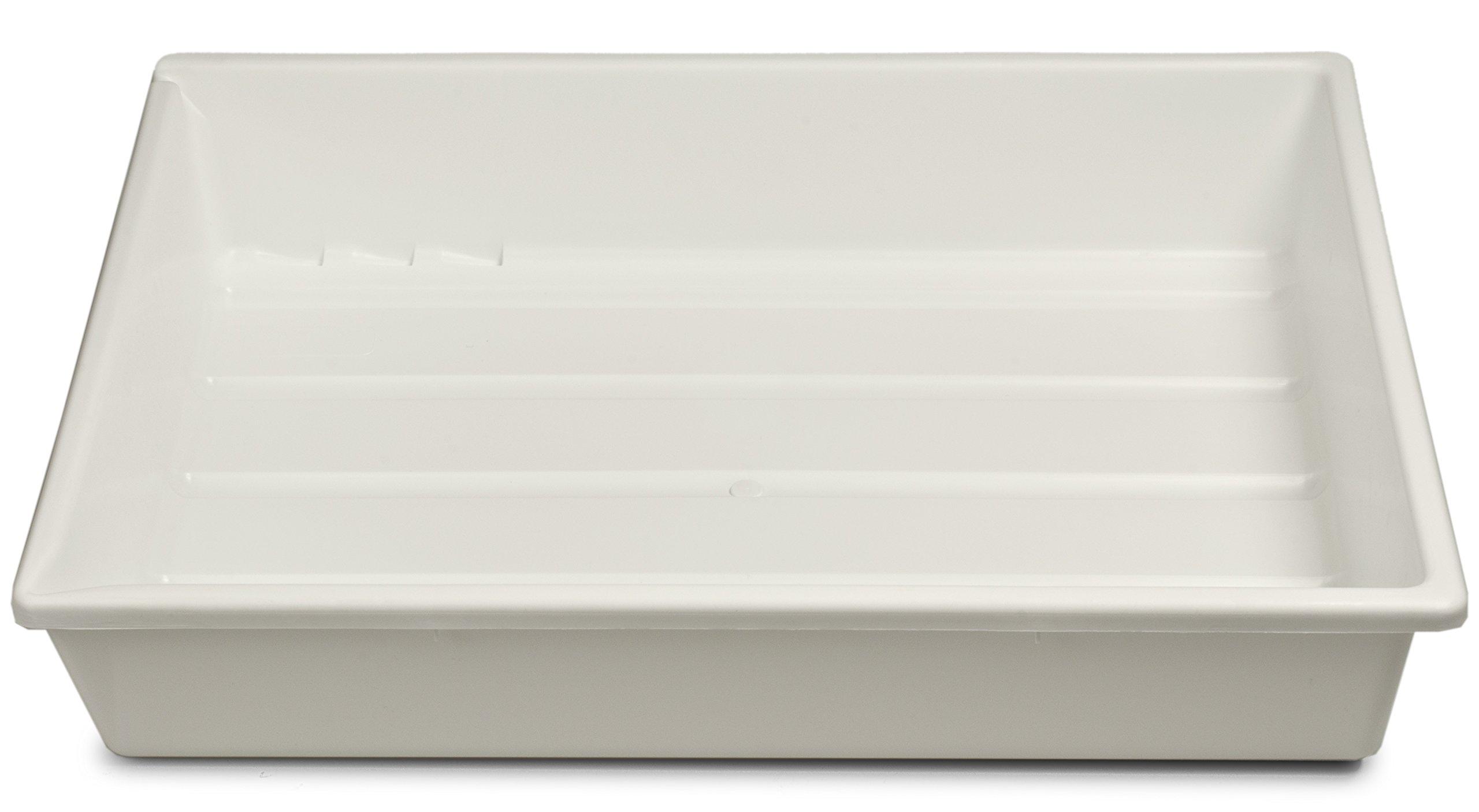 Kaiser 204171 12''x16'' Lab Tray (White) by Kaiser