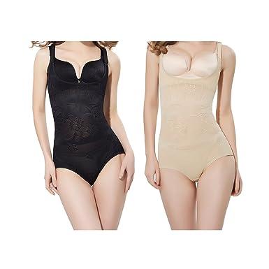 WhiFan Femme Sculptante Culotte Gainante Taille Haute Panty Minceur Body  Gaine Amincissante Ventre Plat Minceur Taille fee4ff7e3a7