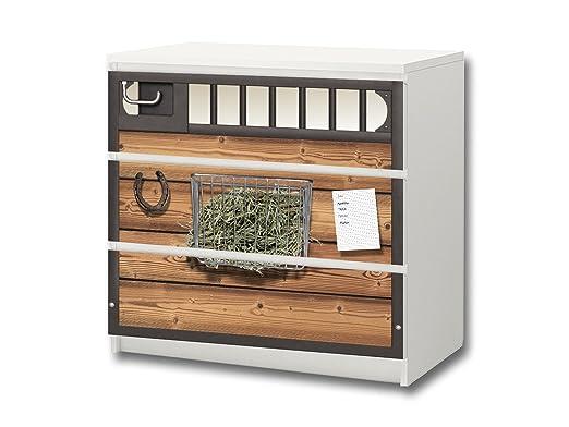 Mundo de Caballos pegatina de muebles | M3K23 | Pegatinas ...