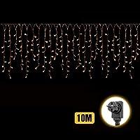 Salcar Cortina de luces LED de 10M
