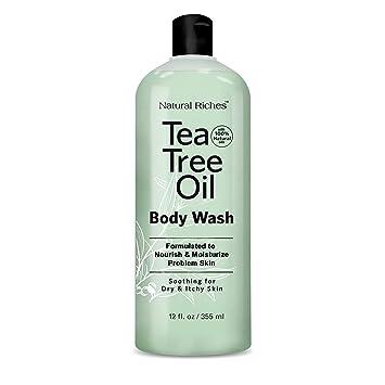 Buy Antifungal Teatree Oil Body Wash Peppermint Eucalyptus Oil