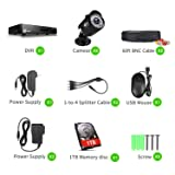 XVIM 8CH 1080P Security Camera System Outdoor