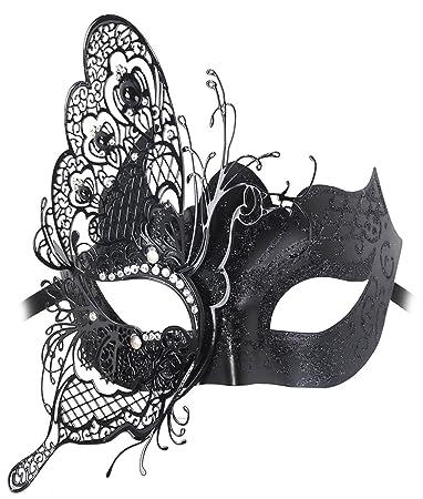 goditi la spedizione gratuita cerca il più recente nuove foto Maschere Veneziane Donna,Coofit Maschere di Carnevale Halloween Maschere  Carnevale Adulti