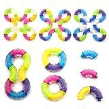 NANAHouse Set of 4 Tangle Fidget Sensory Toys