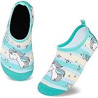 Zapatos de Agua para Niños Antideslizante Secado RáPido Descalzo Calcetines Zapatillas de Piscina Escarpines