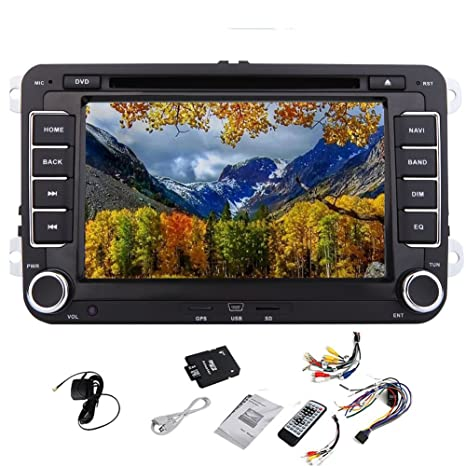 GPS reproductor de DVD del coche V¨ªdeo Logo Pupug coche DVD GPS Video Player