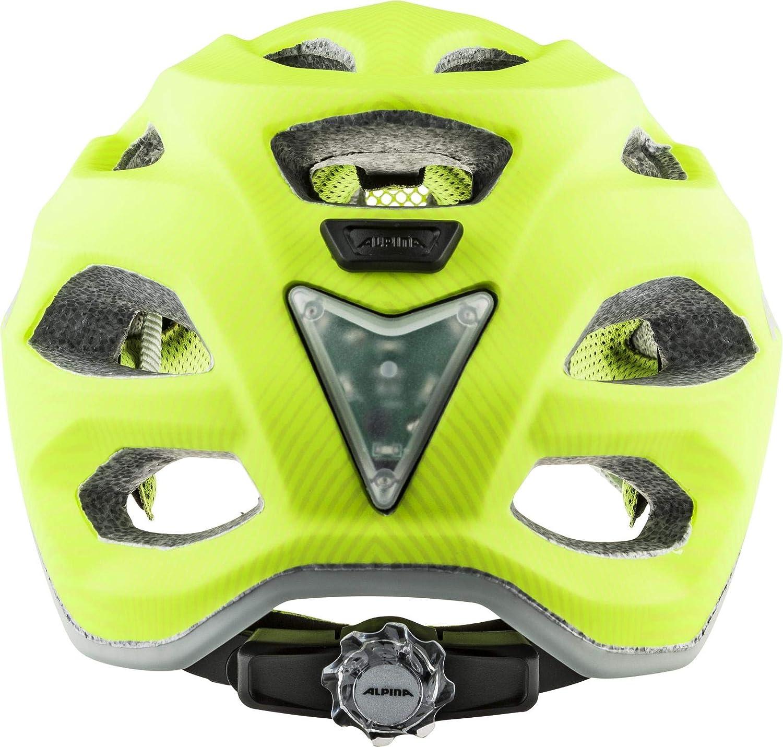 /Be Visible Flash Bicicleta Casco/ ALPINA Cara Pax Jr