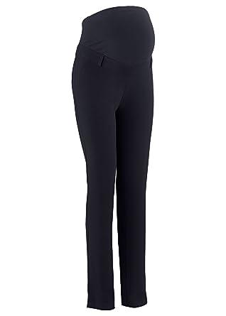 più foto 12f3b a2274 bpc bonprix collection - Pantaloni - Donna nero W44: Amazon ...