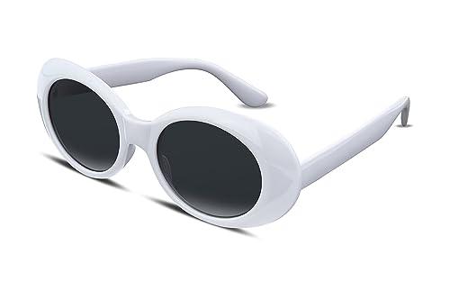 FEISEDY Candy Retro Acetate Frame Clout Goggles Kurt Cobain Sunglasses B2253