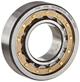 FAG NU212E-M1-C3 Cylindrical Roller Bearing, Single Row, Straight Bore, Removable Inner Ring, High Capacity, Brass Cage, C3 Clearance, 60mm ID, 110mm OD, 22mm Width