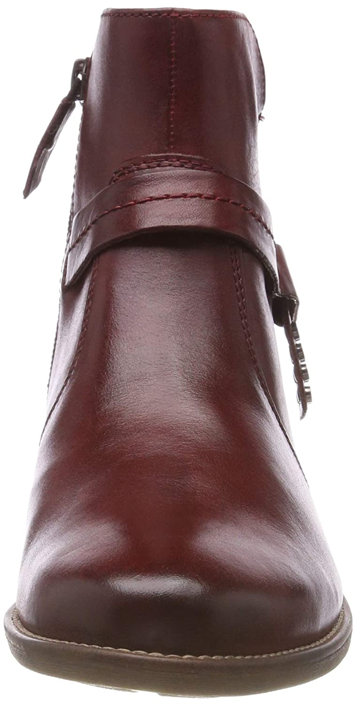 Tamaris Damen 25017-21 Rot Stiefeletten Rot 25017-21 (Sangria 536) 08896d