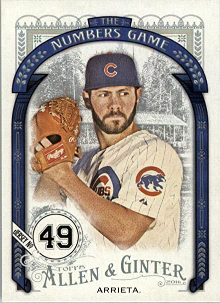 3e5a9d1125e 2016 Topps Allen and Ginter Baseball The Numbers Game  NG-63 Jake ...