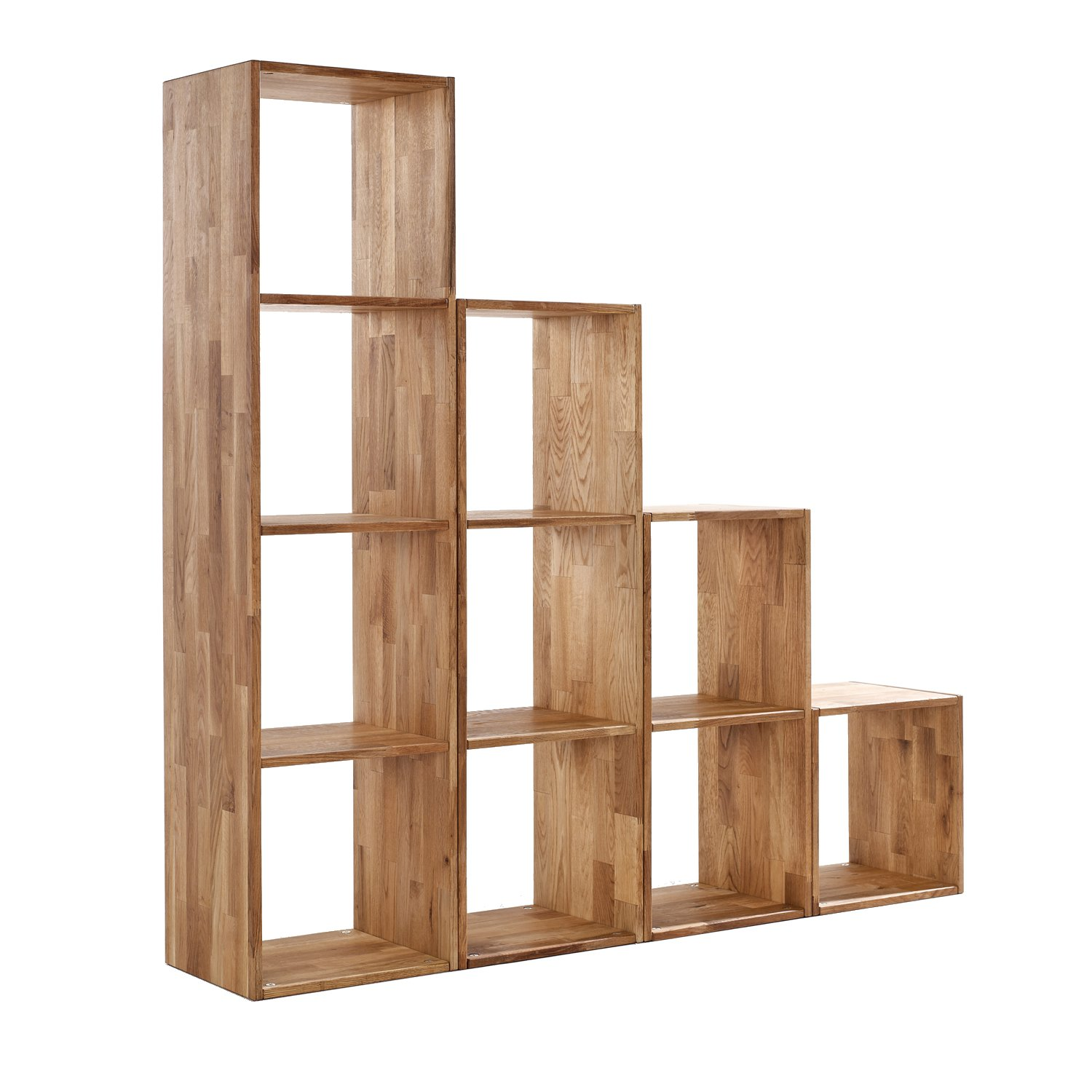Elegant WorldStores Maximo Oak Single Cube   Oak Storage Cube   Single Storage Unit    Innovative Home Storage: Amazon.co.uk: Kitchen U0026 Home