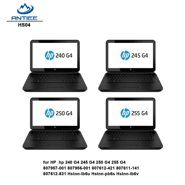 ANTIEE 38WH Hs04 Hs03 Battery Compatible with HP 807957-001 807956-001 807612-421 807611-141 807612-831 Hstnn-lb6u Hstnn-pb6s Hstnn-lb6v HP 240 G4 245 G4 ...