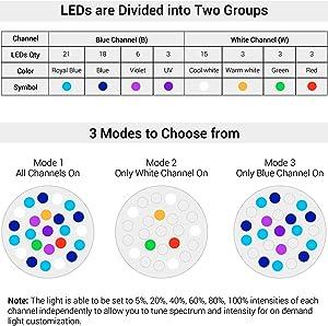Light channels