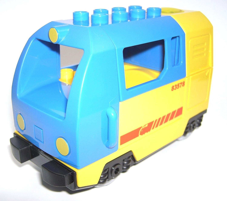 LEGO DUPLO Personenlok blau aus 5608