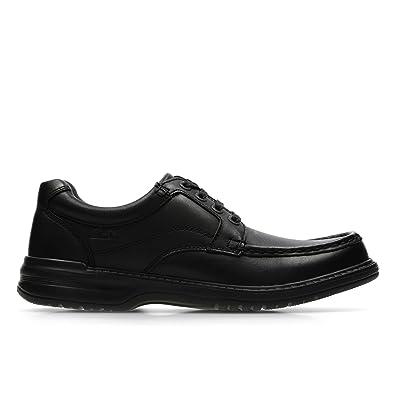 Clarks Keeler Walk Black Leather 7 UK G / 41 EU YSNIQe3