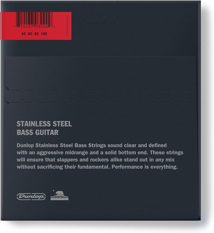 a 4 corde .040/ luce /.100 Goccia extra pesante Jim Dunlop DBS60120 Corde per basso in acciaio INOX