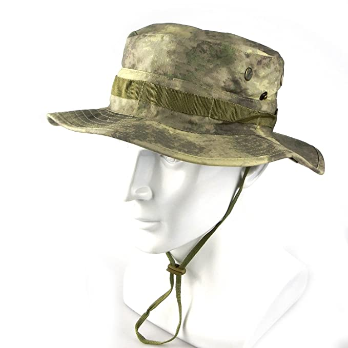 Amazon.com   ATAIRSOFT Airsoft Tactical Boonie Hat Cap Camping (A-Tacs)    Sports   Outdoors 397b63308484