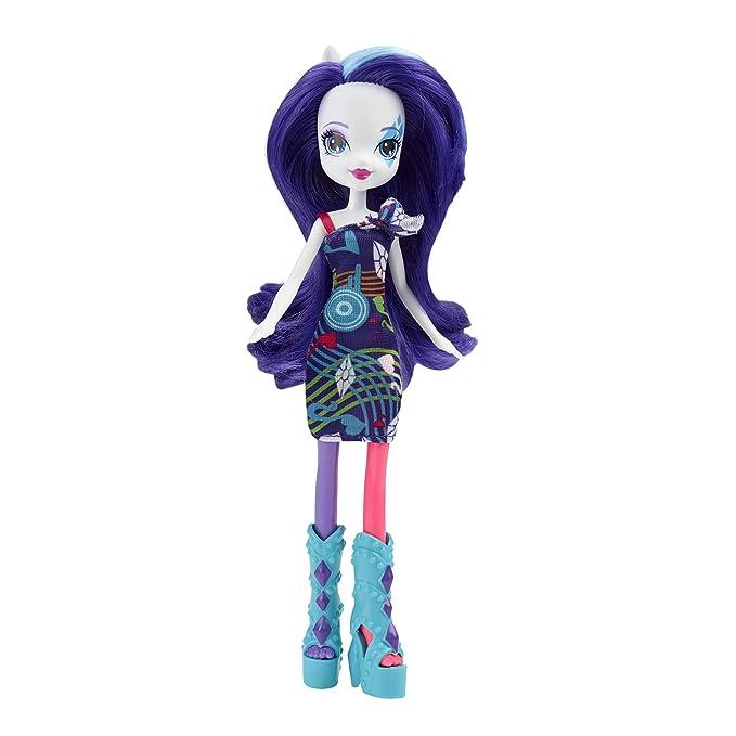 My Little Pony Equestria Girls Rainbow Rocks Rarity Doll with ...