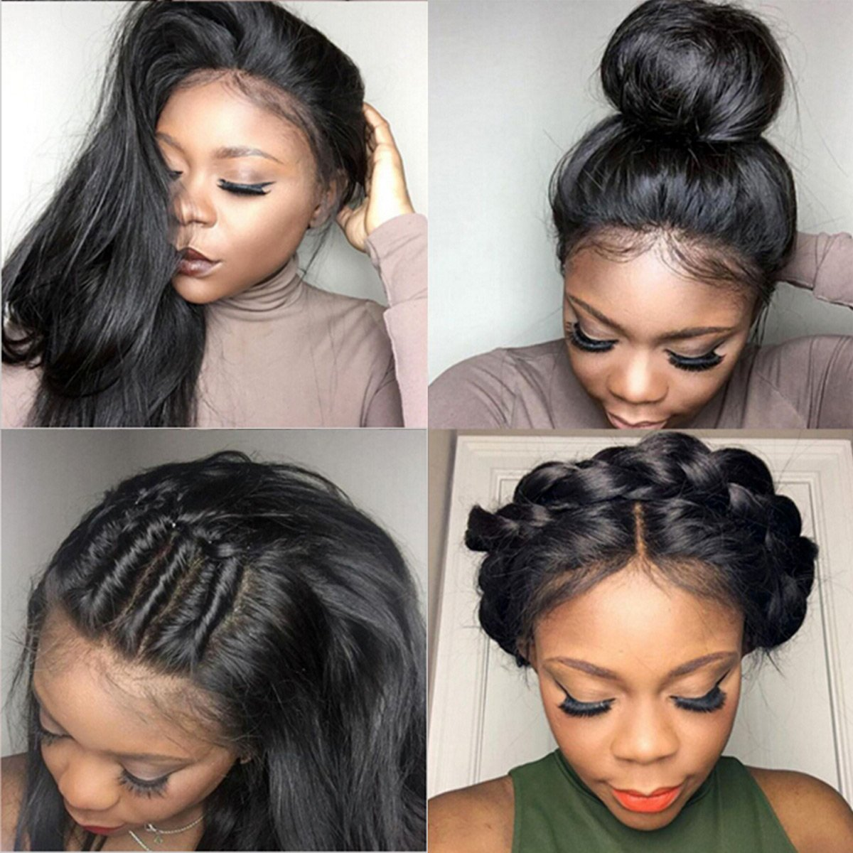 Amazon Pre Plucked 360 Lace Frontal Closure With Bundles