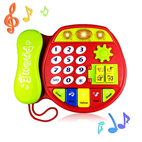Telephone Toy For 3 12 Month Baby Phone Gift 1 Year