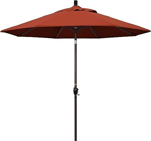 California Umbrella GSPT908117-5440 9' Round Aluminum Market