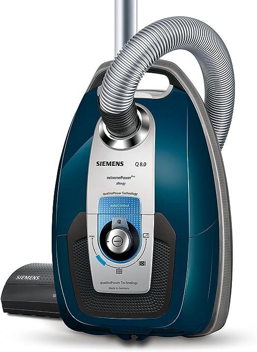 Siemens VSZ7A400 650 W, Aspiradora cil/índrica, Secar, Bolsa para el polvo, 5 L, HEPA Aspiradora